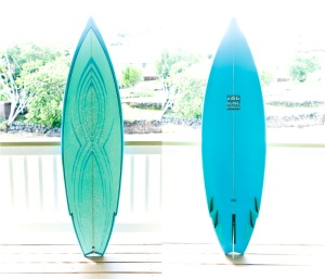 THE Surfboards by Ted Heople presents the Hydro-Matic